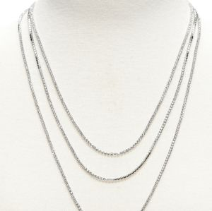 BR | Classic rebel cup chain layer necklace